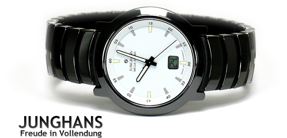 junghans mega solar ceramic manual