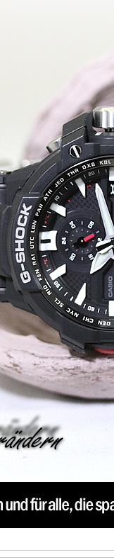 Casio Herrenuhr GW A1000 1AER Premium G Shock Solar Funk ...