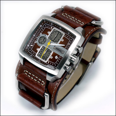 fossil trend gents herren uhr chrono jr1197 jr 1197 ebay. Black Bedroom Furniture Sets. Home Design Ideas